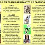 Pessoas irritantes no Facebook