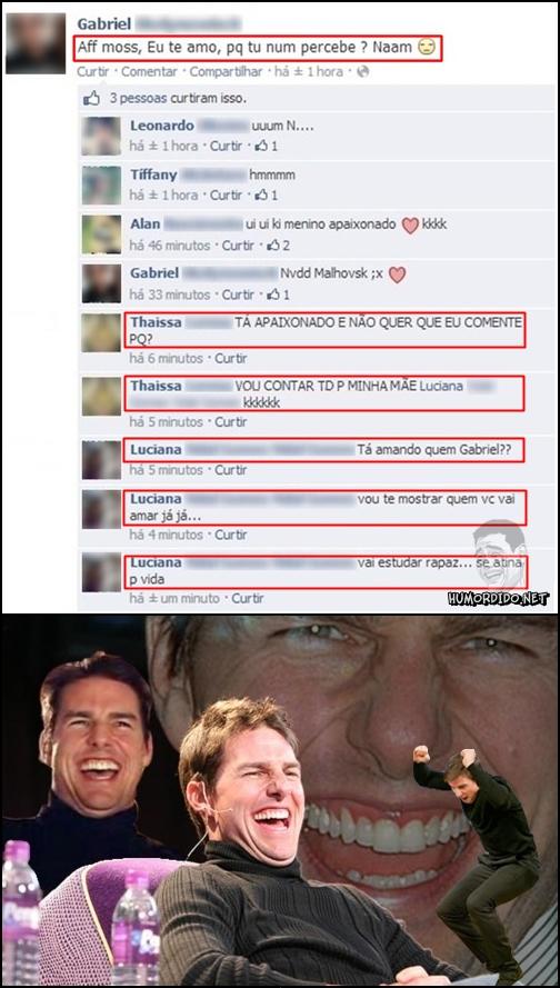 Isso que a ter família no facebook