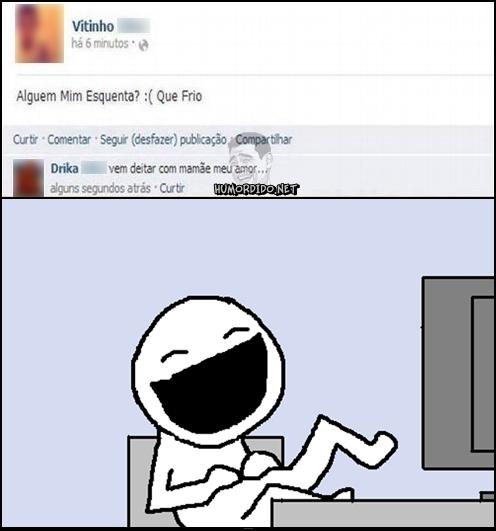 Quando a publicação no Facebook não da certo