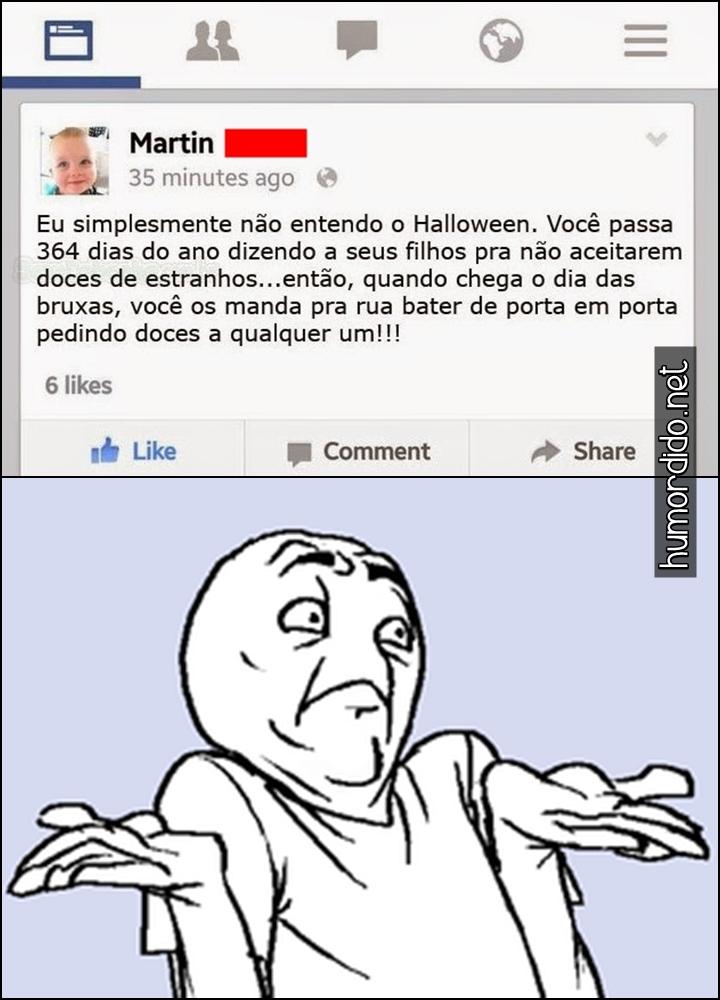 Eu não entendo o Halloween
