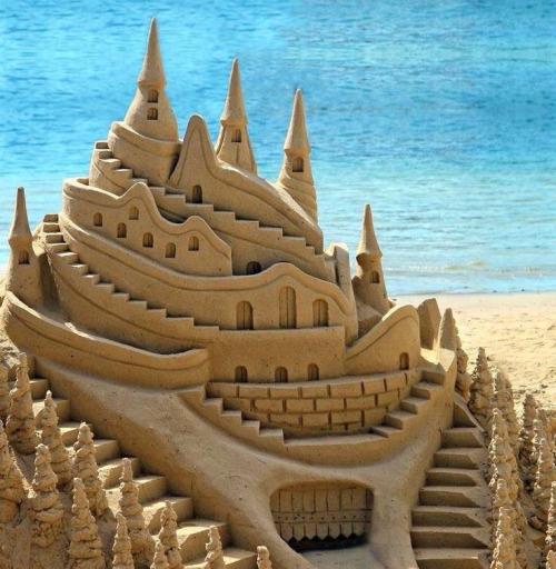 10 Imagens De Castelos De Areia