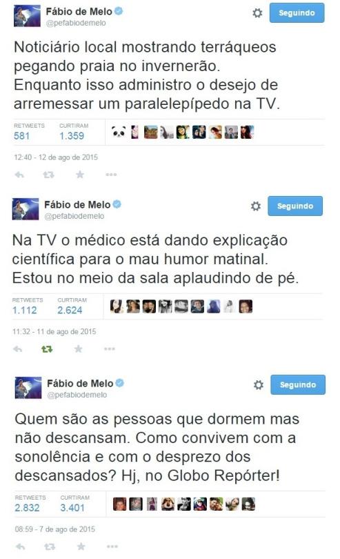 Padre Fábio de Melo mita no Twitter - HumordidoHumordido
